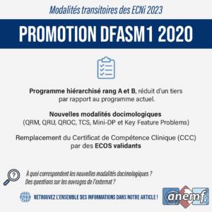 Infographie modalités transitoires ECNi 2023